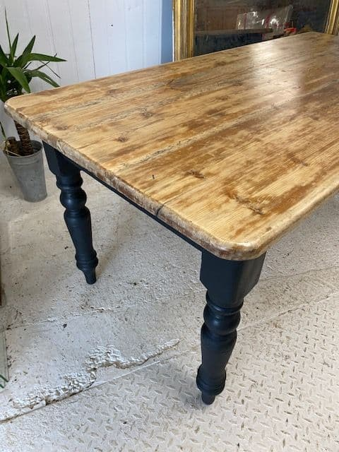 SOLD - Just In - Great Looking French Dining Table - vc18